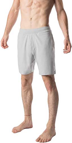 YOGA CROW Mens Pocketless Swerve Shorts