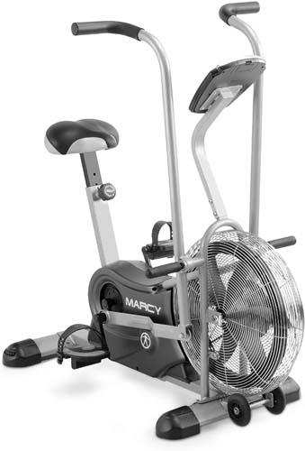 Marcy Exercise Upright Fan Bike for Cardio Training