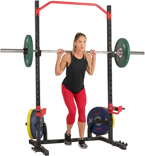 Sunny Health & Fitness Power Zone Squat Stand Rack