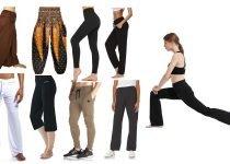 Types of Yoga Pants