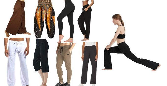 Types of Yoga Pants